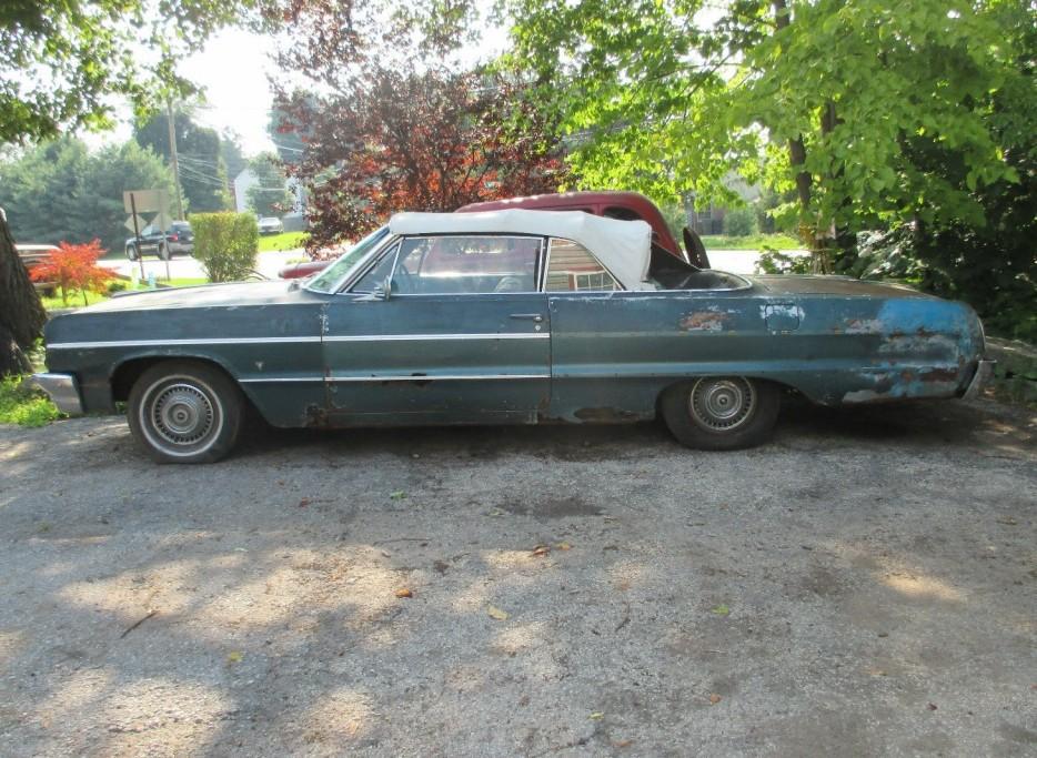 topless antelope 1964 chevrolet impala convertible. Black Bedroom Furniture Sets. Home Design Ideas