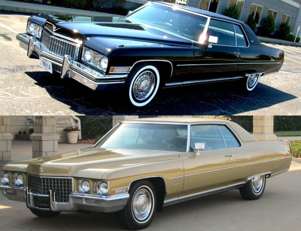 Pick your Deville: 1970's Cadillacs