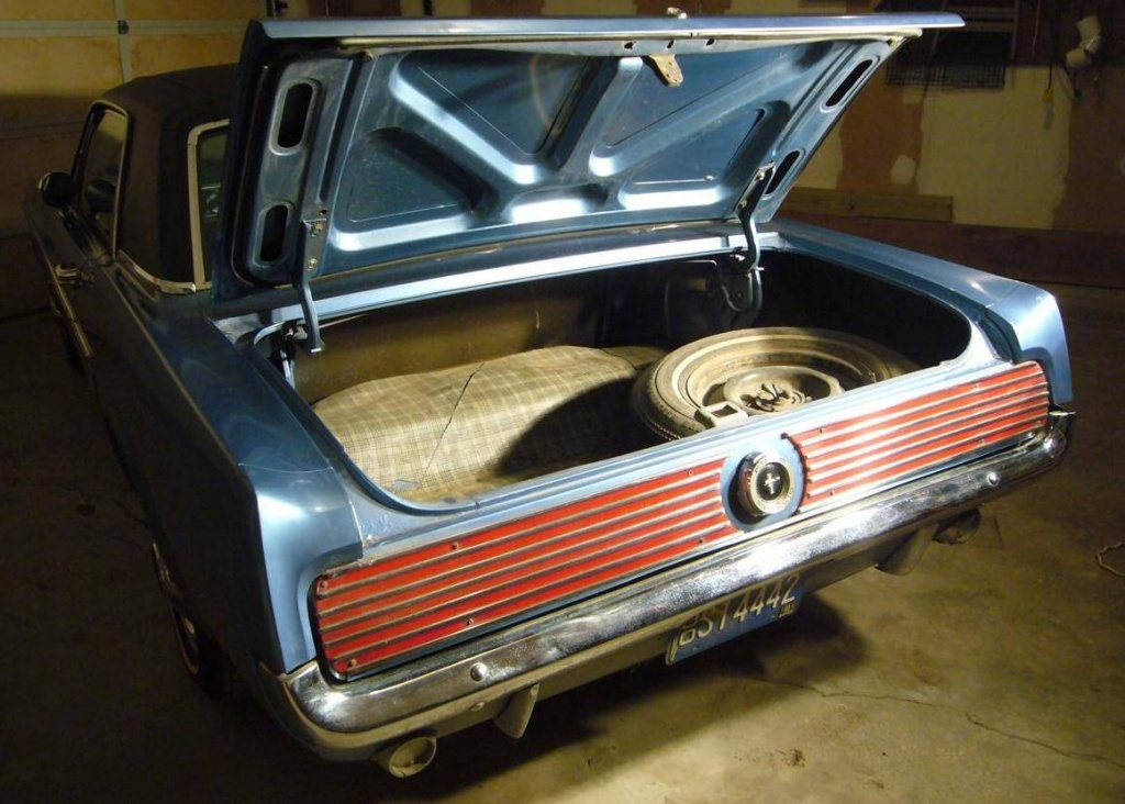 1965 Mustang With Dealer Installed Options?