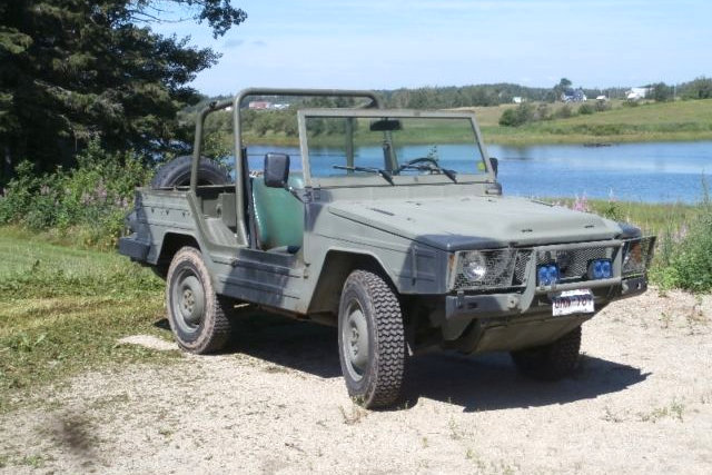 Military Vehicles For Sale Canada >> 1985 Bombardier Iltis: G-Wagen Beater
