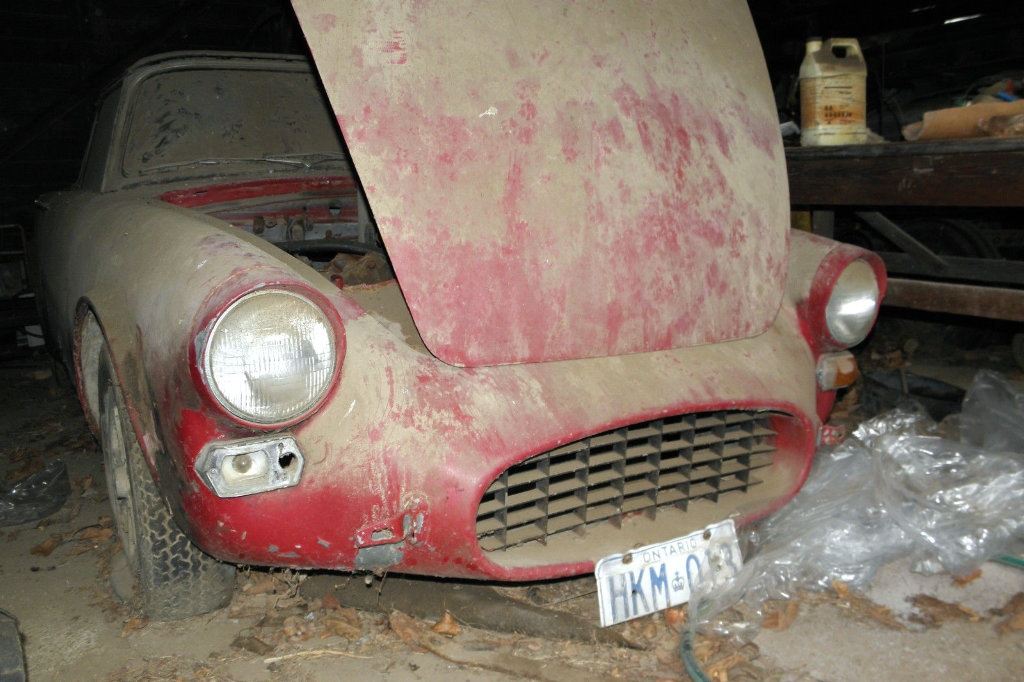 Cat With A Snout 1966 Sunbeam Tiger Barn Find