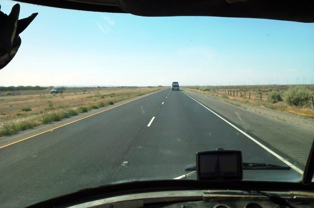 UltraVan on the road