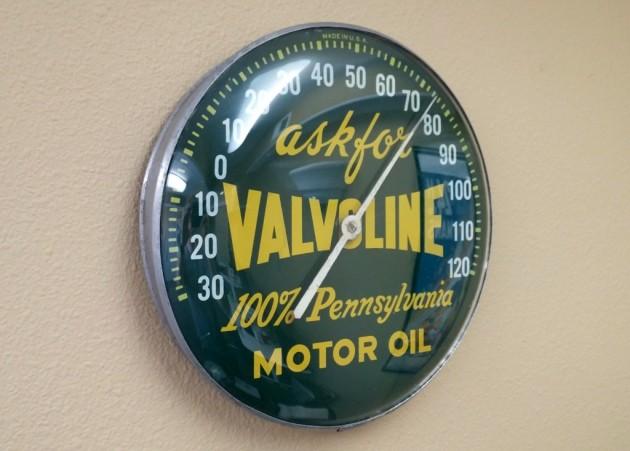 Automobillia: Valvoline Thermometer