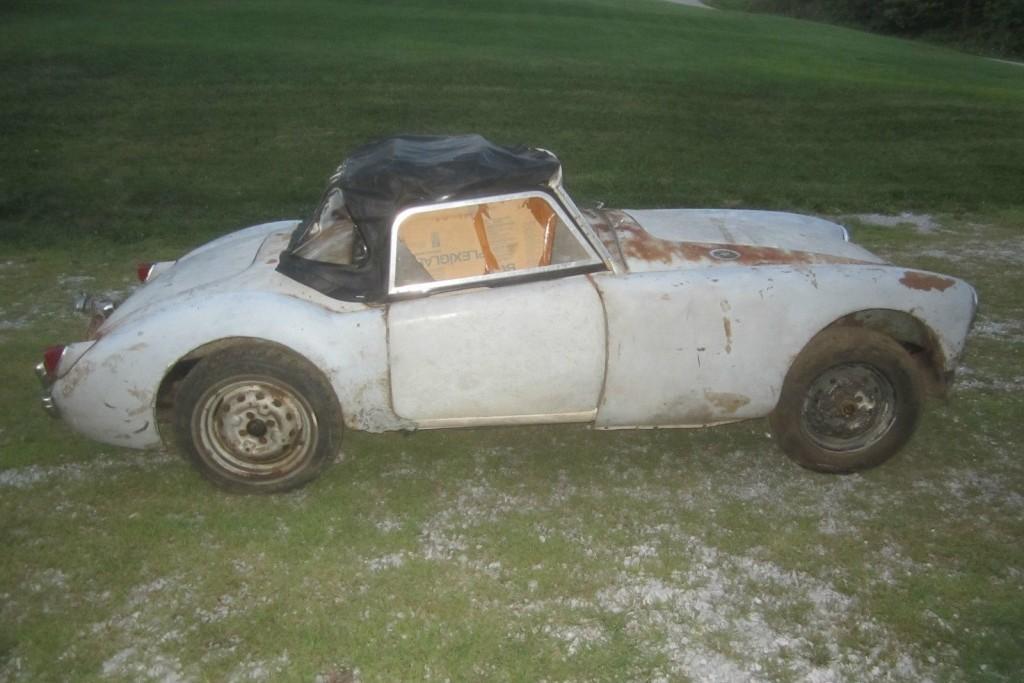 Motoring Monday: 1959 MGA - Stalled Restoration