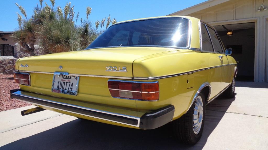 German Import 1974 Audi 100 Ls