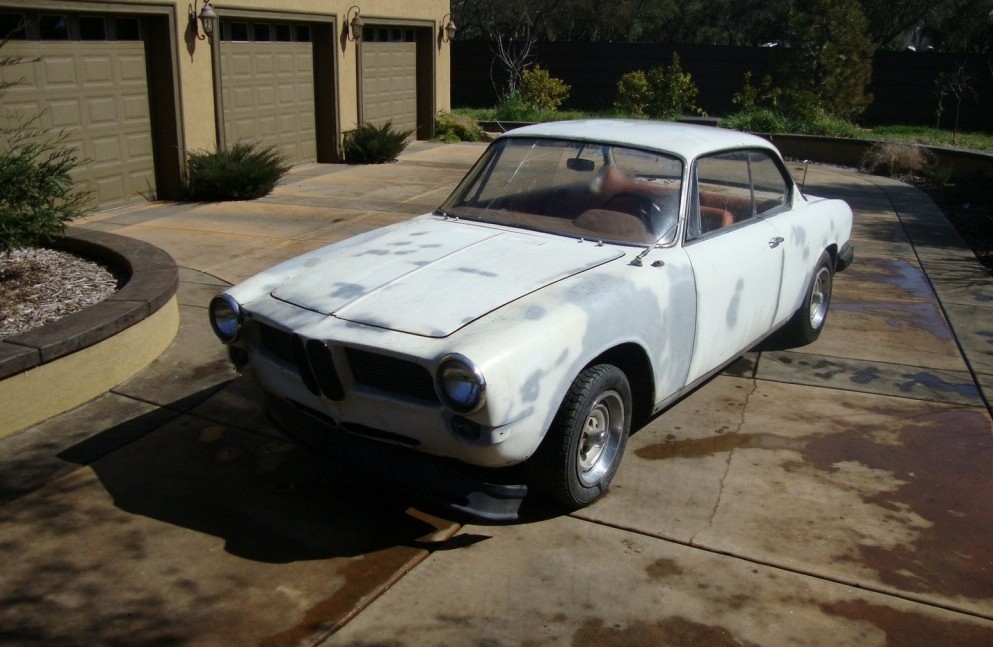 1963 BMW 3200CS: Hofmeister Original - Barn Finds