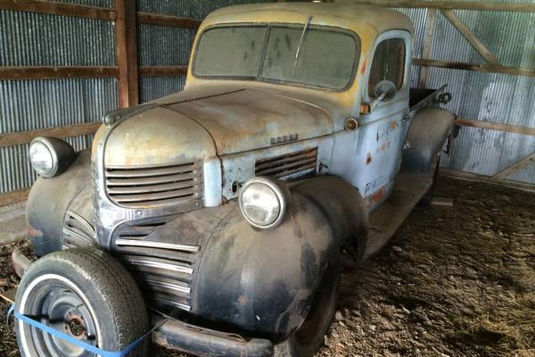 Just Been Resting 1941 Dodge Pickup