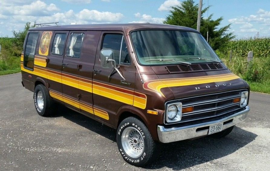MaxiVan 1977 Dodge Custom Van