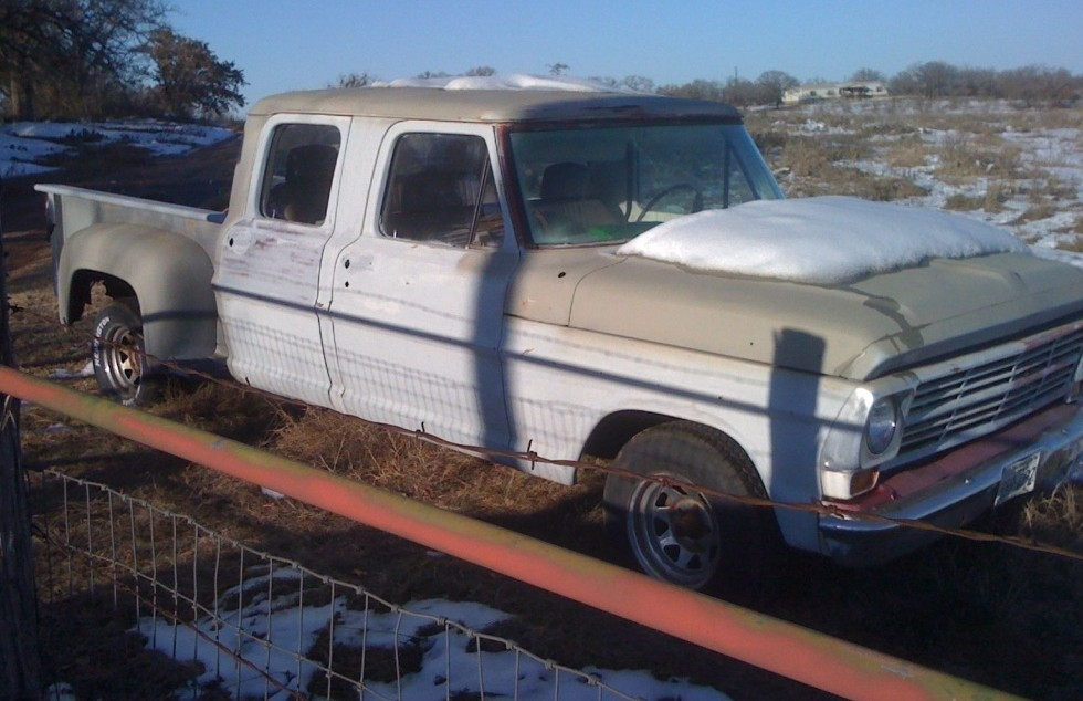 1970 Ford F 250 4 Doors And 4 Speeds