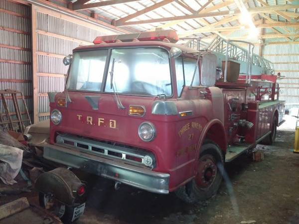 1968 Ford Fire Truck Barn Find
