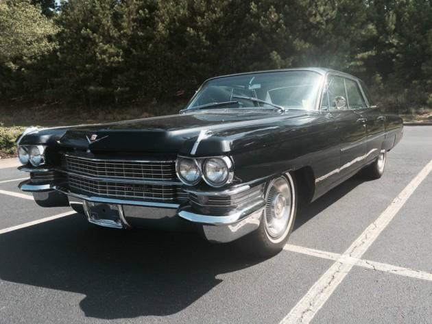 1963 Cadillac Fleetwood Sedan DeVille Survivor