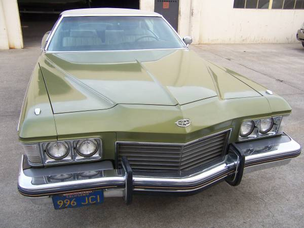 1973 buick riviera ready to sail. Black Bedroom Furniture Sets. Home Design Ideas