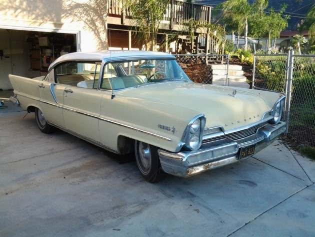 1957 Lincoln Premiere Hardtop Styling