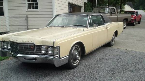 1969 Lincoln Continental: Big Coupe