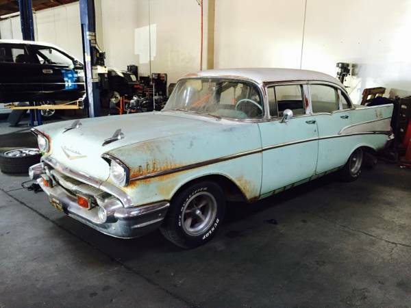 1957 chevy bel air for sale craigslist