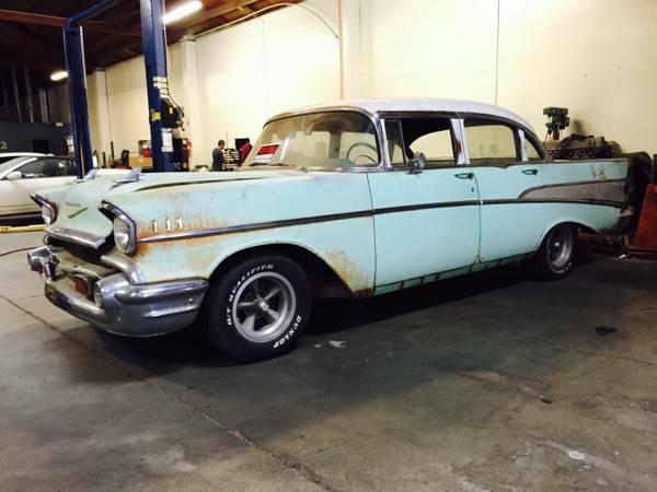1957 Chevy Bel Air 4 Doors For Sale Craigslist | Autos Post