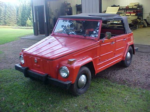 1973 vw type 181 just the thing for fun altavistaventures Gallery
