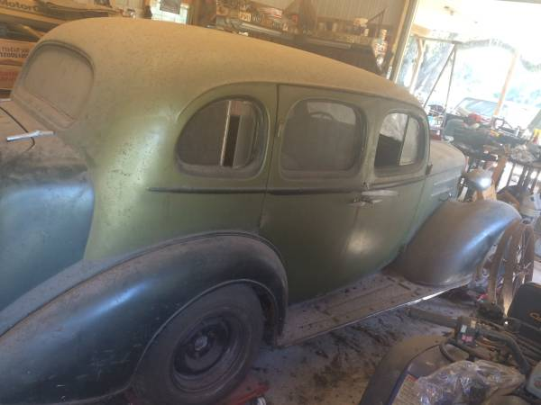 Quintessential Barn Find: 1936 Chevrolet