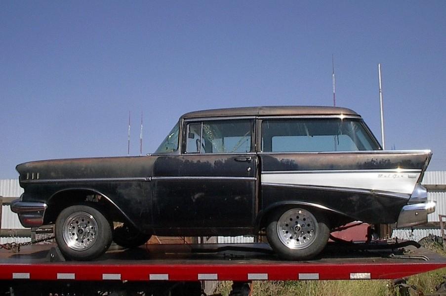 Shortybelair E on 1957 Chevy Bel Air