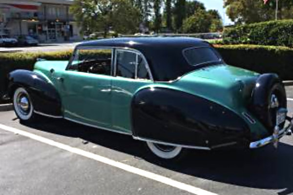 1940 Lincoln Zepher