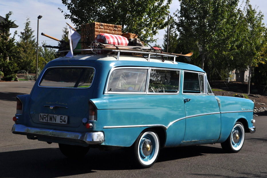 Rare Wagon 1959 Opel Olympia Rekord