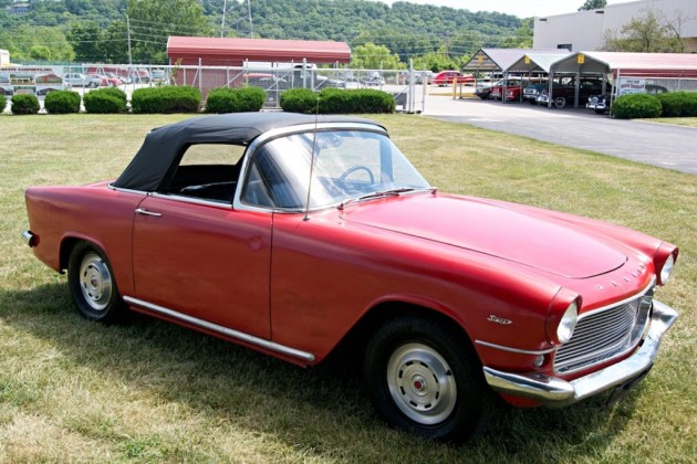 Grandma's 1959 Simca Aronde Oceane Convertible