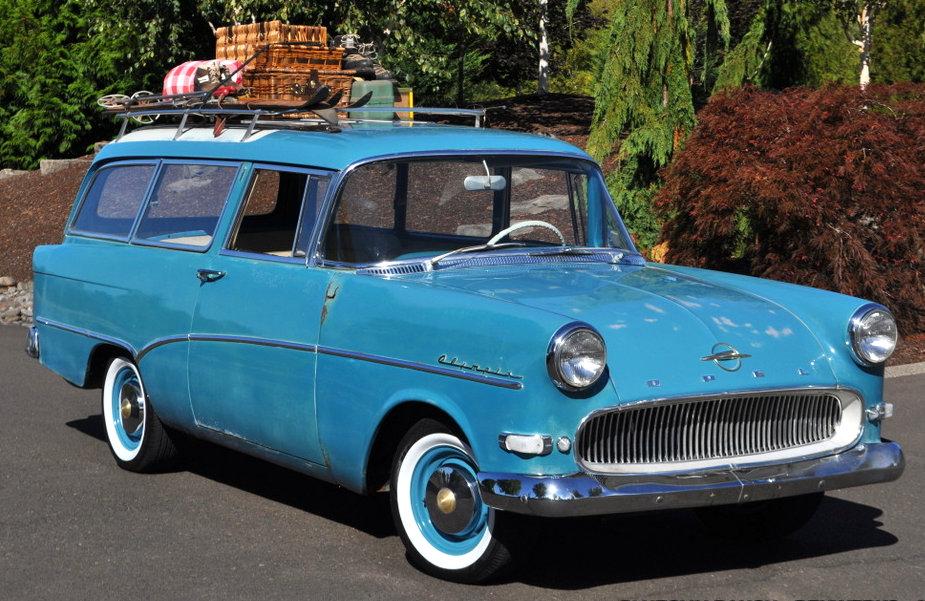 rare wagon 1959 opel olympia rekord. Black Bedroom Furniture Sets. Home Design Ideas