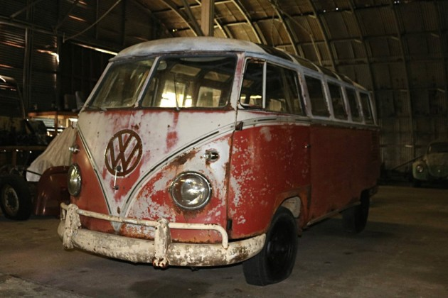 1961 VW Samba Barn Find