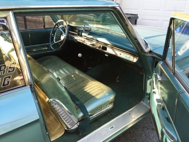 1964 Ford Galaxy Interior