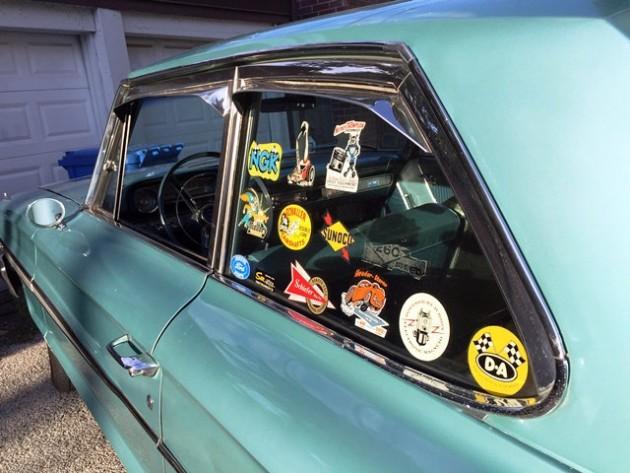 1964 Ford Galaxy Stickers