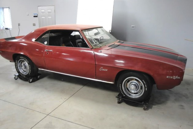 1969 Camaro Z28 cleaned up