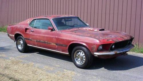 Mustang Cobra Jet >> R-Code Project: 1969 Mustang Mach 1