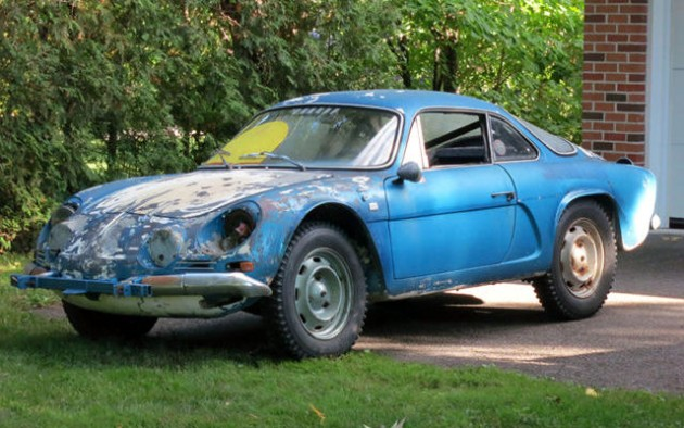 rally ice race history 1970 alpine a110. Black Bedroom Furniture Sets. Home Design Ideas