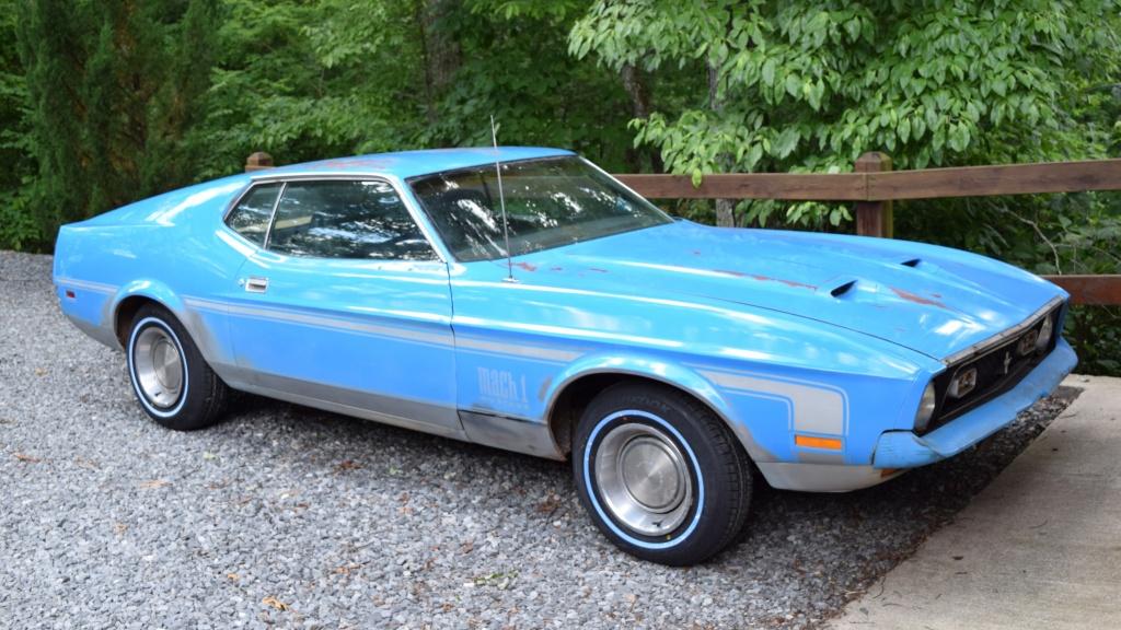 Reader Find 1971 Mustang Mach 1