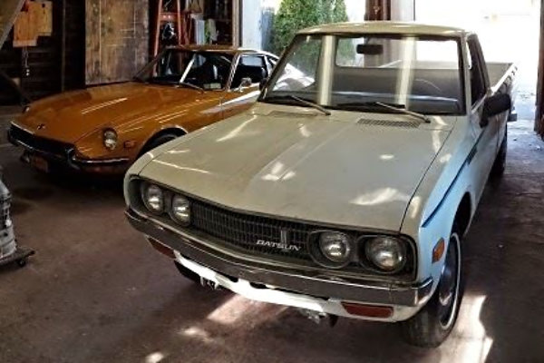 Used Car Auctions >> 1976 Datsun 620 Pick-Up: Long Bed