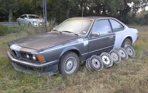 1981 bmw 635csi cheap euro model