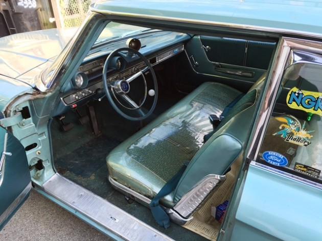 Ford Galaxy Driver's Seat