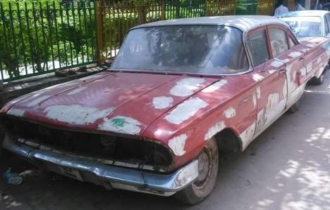 1960 Chevrolet Bel Air: Found in India