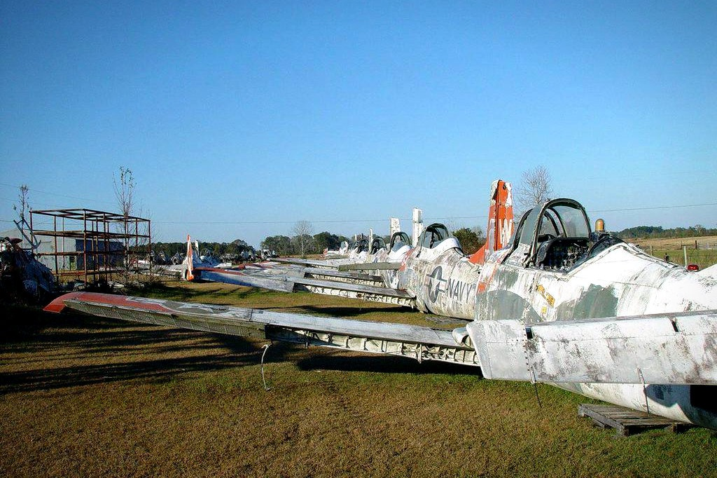All Crash Parts >> Forty Navy T-28s Trojan Field Finds