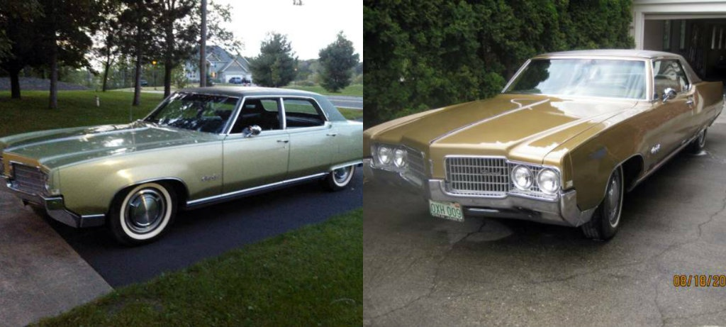 1969 Olds 98s Two Or Four Doors