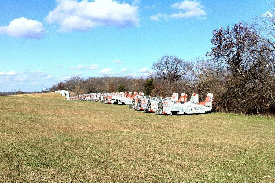 Forty Navy T 28s Trojan Field Finds