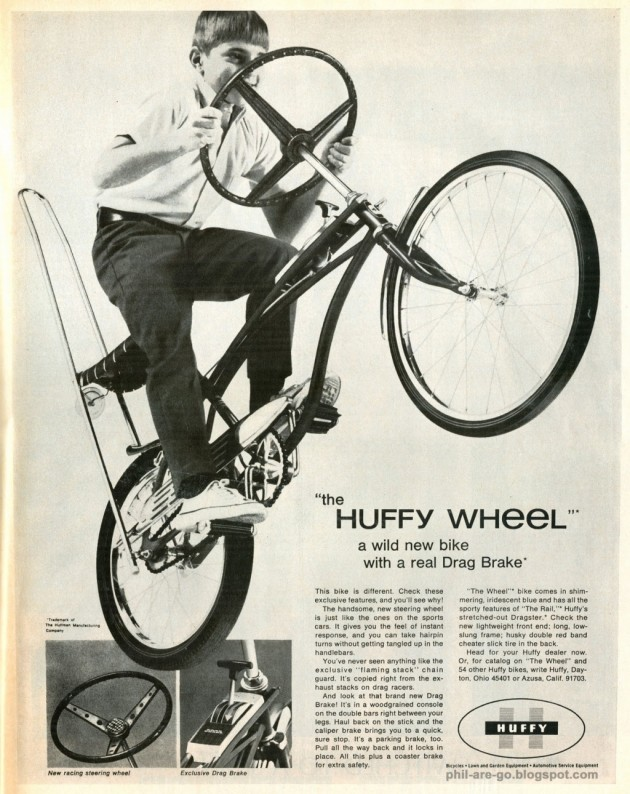 The Huffy Wheel Ad