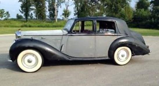 Classy But Tatty: 1953 Bentley R-Type