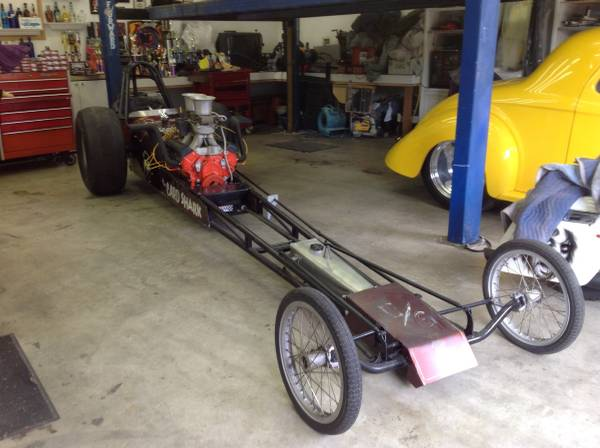 1960s Dragster: The Card Shark