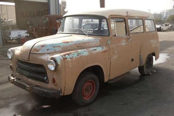 1955 Dodge Town Wagon: Unusual Wagon - Barn Finds