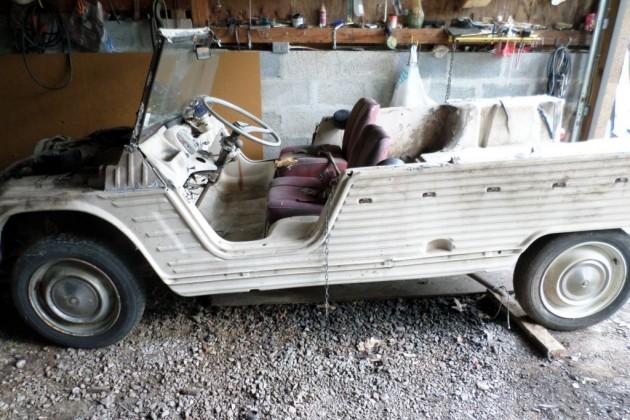 1970 Citroen Mehari: Humpty Dumpty Truck?