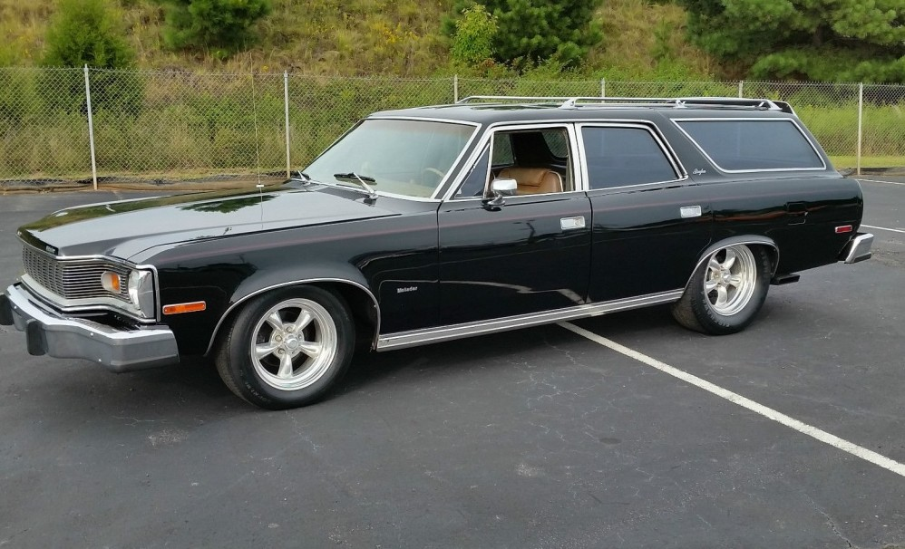 1976 amc matador brougham  room for 9