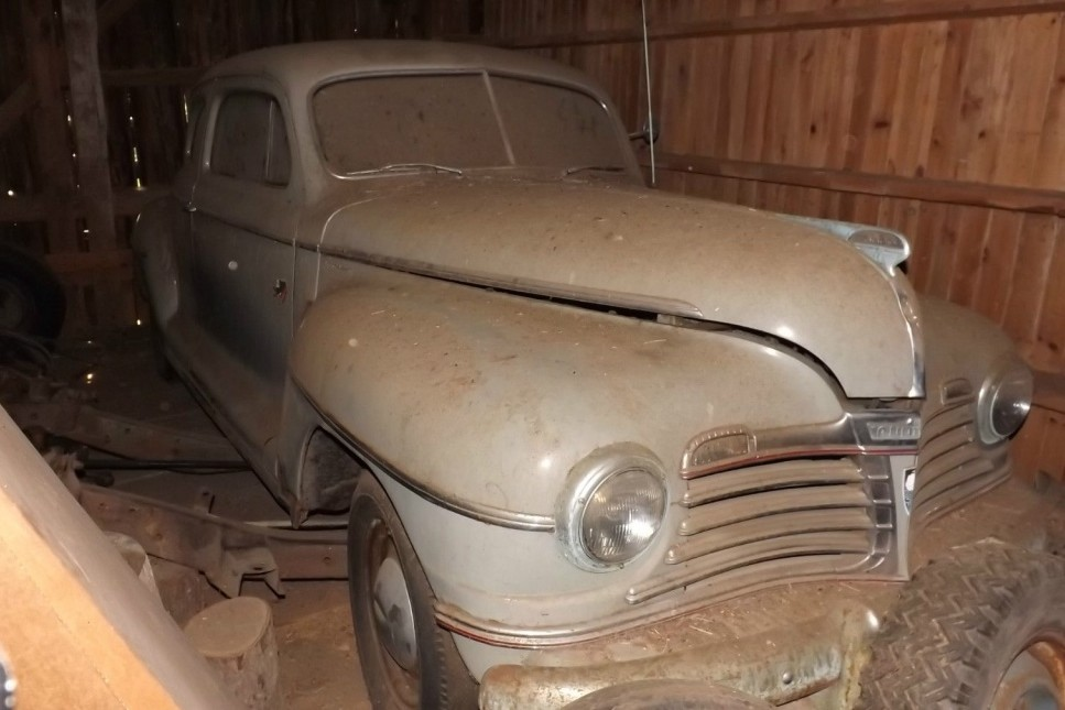 45 Years In A Barn: 1942 Plymouth Coupe