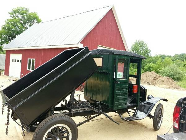 1925 Ford Model T Dump Truck Find