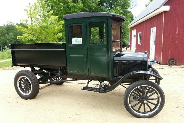 Used Car Auctions >> 1925 Ford Model T: Dump Truck Find